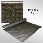 "Douglas Industries, Inc. - Privacy Screen - Brown, 44"" x 150' Roll"
