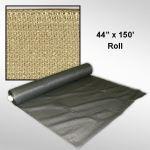 "Douglas Industries, Inc. - Privacy Screen - Beige, 44"" x 150' Roll"