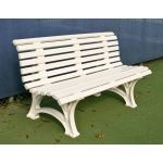 Douglas Industries, Inc. - Courtsider Deluxe Bench 5' White
