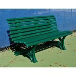 Douglas Industries, Inc. - Courtsider Deluxe Bench 5' Green