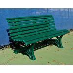 Douglas Industries, Inc. - Courtsider Deluxe Bench 5' Green