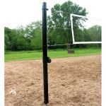 "Douglas Industries, Inc. - VBS-3.5 SQ Outdoor Power Volleyball System, 3.5"" SQ Steel, Black"