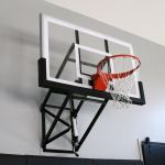 Douglas Industries, Inc. - Wall Mount Adjustable Basketball System