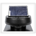 Battic Door Attic Access Solutions - Solar Attic Fan 9910TR