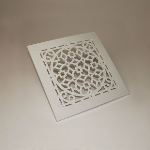 RectorSeal - Small white antique grille only 81829 (Model: GRASW) Diffuser