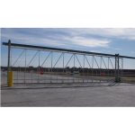 Jamieson Manufacturing Co. - I-Trac™ Overhead I-Beam Sliding Gate