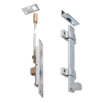 PDQ Manufacturing - Flush Bolts & Coordinators 93202 Series Self-latching Automatic Flush Bolts for Composite Wood Doors