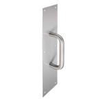 PDQ Manufacturing - Pulls & Plates 86 Series Pull Plate with 3 Series Door Pull