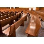 New Holland Church Furniture - Curved Pews