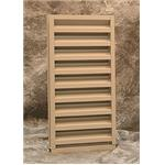 Reliable Architectural Louvers & Grilles - 245D - Stationary Heavyline Louvers