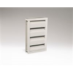 Reliable Architectural Louvers & Grilles - Stationary Acoustical Louver: 445RAAZ