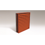 Reliable Architectural Louvers & Grilles - Automatic Intake Dual Combination Aluminum Louver: 6375DBID