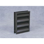 Reliable Architectural Louvers & Grilles - Stationary Louver: 4375B