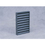 Reliable Architectural Louvers & Grilles - Thin Line Stationary Louver: 15045RZ
