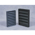 Reliable Architectural Louvers & Grilles - Thin Line Stationary Louver: 245RB