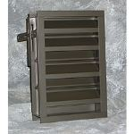 Reliable Architectural Louvers & Grilles - Drainable Combination Louver: 445RDHBD