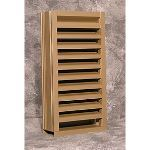 Reliable Architectural Louvers & Grilles - Wind-Driven Rain Resistant Stationary Louver: 5DDWRG