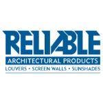 Reliable Architectural Louvers & Grilles - Automatic Exhaust Dual Combination Aluminum Louver:6375DBED