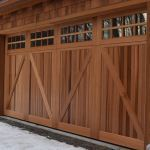 Everite Door - North Country Custom Series Wood Garage Doors