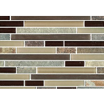 Terrazzo & Marble Supply - Mosaic Glass - Brazilian Rio Brick
