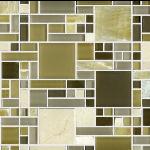 Terrazzo & Marble Supply - Mosaic Glass - Geo Onyx Glass