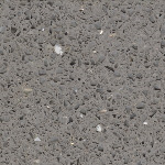 "Terrazzo & Marble Supply - Quartz - Palladium - Polished - 12""x12""x3/8"