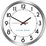 American Time - Wi-Fi Aluminum Case Electric Clocks