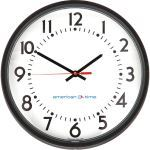 American Time - Wireless Molded Case Electric Analog Clocks