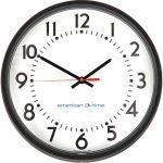 American Time - Custom Logo Molded Case Power over Ethernet (PoE) Analog Clocks