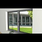 U.S. Aluminum - Horizontal Sliding Blast Resistant Window - Series BW8200