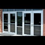 U.S. Aluminum - Thermal Entrances: Series 250-T, 400-T, & 550-T Thermal Entrance Doors