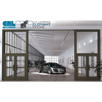 U.S. Aluminum - Entrances: Series E1200 Elephant Door
