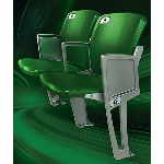 Interkal LLC - AURA Solid Stadium Chair (SC)