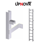 UPNOVR, Inc. - Hatch Access Light Duty Vertical Ladder - U100