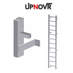 UPNOVR, Inc. - Hatch Access Heavy Duty Vertical Ladder - U200
