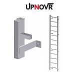 UPNOVR, Inc. - Hatch Access Heavy Duty Vertical Ladder - U200