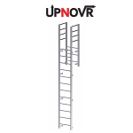 UPNOVR, Inc. - Parapet Access with Return Vertical Ladder - U202