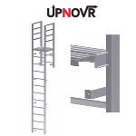 UPNOVR, Inc. - Parapet Access with Platform Vertical Ladder – U-203