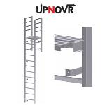 UPNOVR, Inc. - Parapet Access with Platform Vertical Ladder – U-203