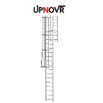 UPNOVR, Inc. - Parapet Access Ladder w/ Return – U-302
