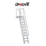 UPNOVR, Inc. - Mezzanine Access w/ Platform Ladder – U-504