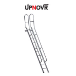 UPNOVR, Inc. - Folding Mezzanine Access Ladder – U-505