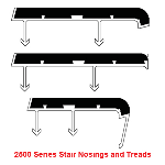 UPNOVR, Inc. - ULTRA 2500 Series Safety Nosings - New Concrete
