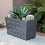 Planters Unlimited - Brockton Tapered Rectangular Planter