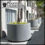 Planters Unlimited - The Capri - Round Outdoor Planter