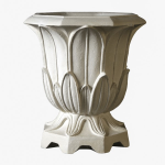 Planters Unlimited - Fleur Urn Cast Stone Planter