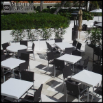 Planters Unlimited - Commercial Fiberglass Tabletops Custom Tables