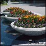 Planters Unlimited - Alexandria Flower Bowl Planter
