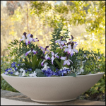 Planters Unlimited - Commercial Bowl Shaped Fiberglass Planters