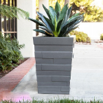 Planters Unlimited - Brockton Tapered Square Planter